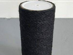 Krabpaal onderdelen Sisalpaal 25x12 M8 BLACKLINE