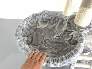 Hangmat 45cm de Luxe Light Grey Ø 12cm