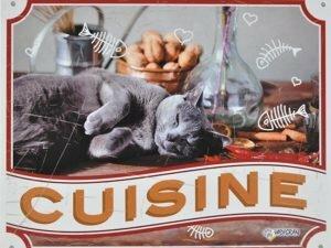 Waakbord kat Cuisine FR