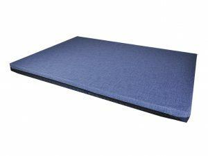Matras All Season donkerblauw 80x60x5cm