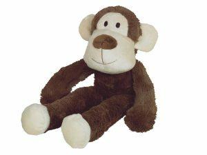 Speelgoed hond pluche Abel de aap 40cm