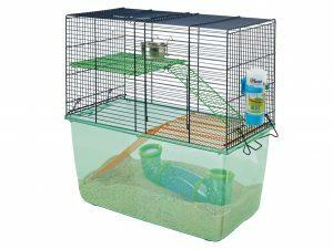 Hamsterkooi Habitat Metro marineblauw 51x26x52cm