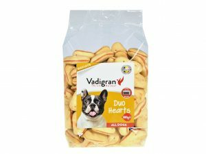 Snack hond Biscuits Duo Hearts 500g