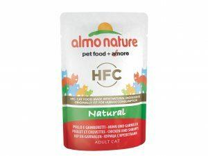 HFC Cats 55g Natural - kip en garnalen
