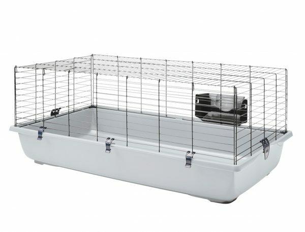 Knaagdierenkooi Ambiente120 zwart/grijs118x64x43cm