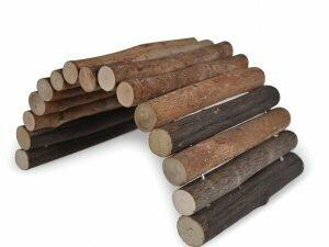 Speelgoed knaagdier hout brug 20m