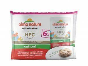 HFC Cats 55g MegaPack Natural - kip en garnalen