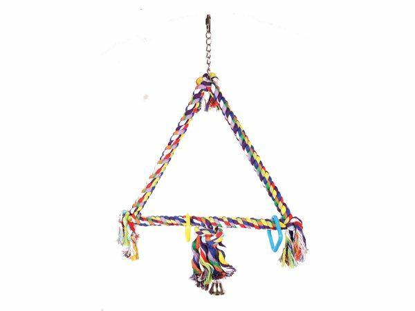 Speelgoed vogel Schommel driehoek 79cm L