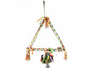 Speelgoed vogel Schommel driehoek 56cm M