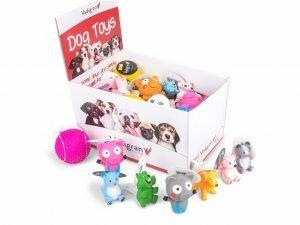 Speelgoed hond latex mix (dis 30)