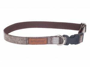 Ami Halsband London aanpasb. bruin 35-50cmx20mm L