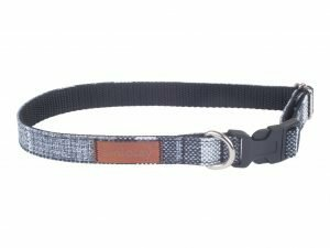 Ami Halsband London aanpasb. grijs 20-35cmx10mm S