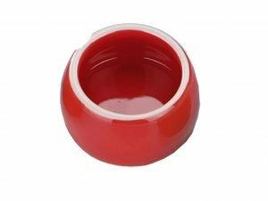 Eetpot knaagdier aardewerk rood Ø8,5cm