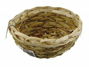 Broednest kanarie riet & kokos + haak