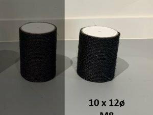 Sisalpaal 10x12Ø M8 BLACKLINE