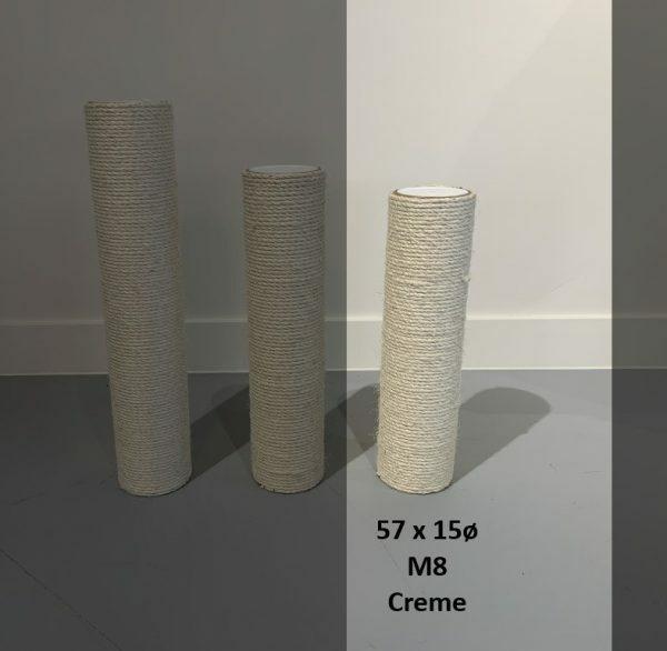 Sisalpaal 57x15Ø M8