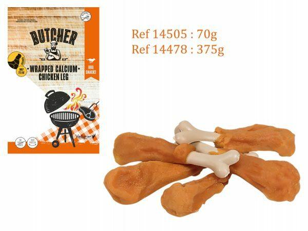 Chicken Wrapped Calcium Chicken leg 375g