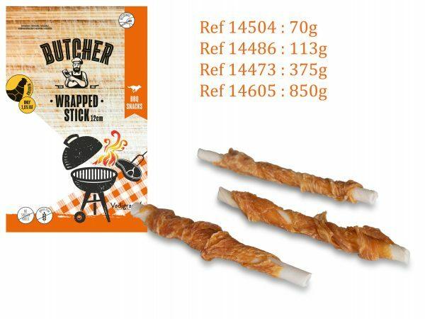 Chicken Wrapped Stick 12cm 375g