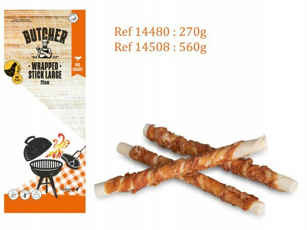 Chicken Wrapped Stick 25cm 270g LARGE