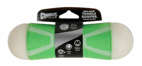 Chuckit Tumble Bumper Max Glow Medium