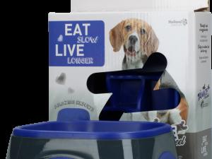 Eat Slow Live Longer Amaze Pinwheel Blue M