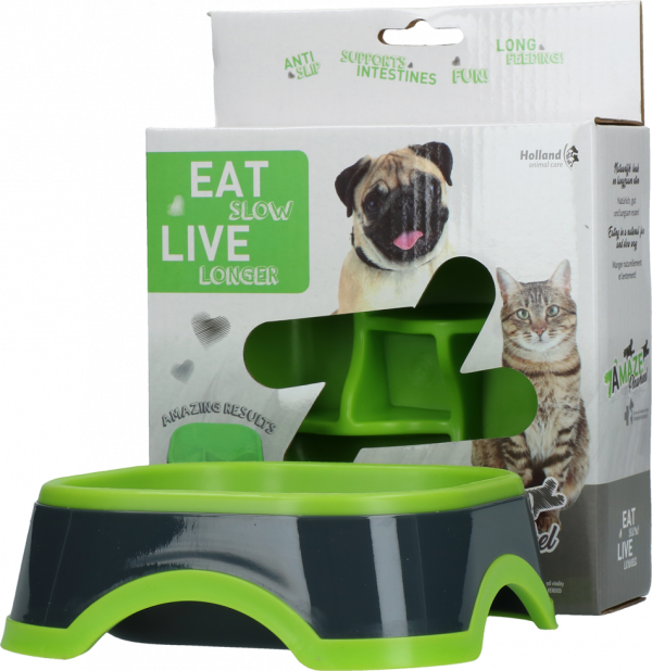 Eat Slow Live Longer Amaze Pinwheel Green S