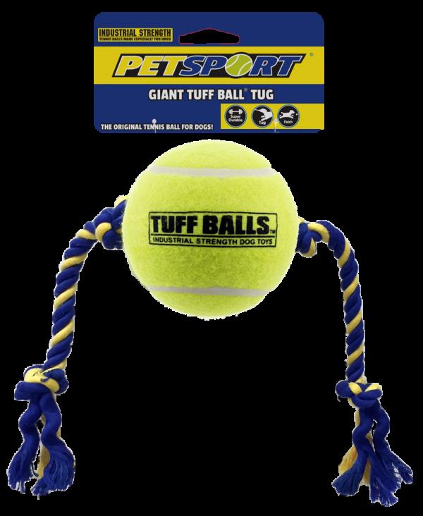 Giant Tuff Ball Tug 48cm, Rope 23cm