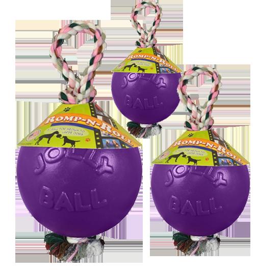 Jolly Ball Romp-n-Roll 15cm Paars