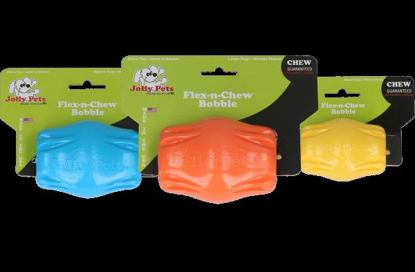 Jolly Flex-n-Chew Bobble blauw medium