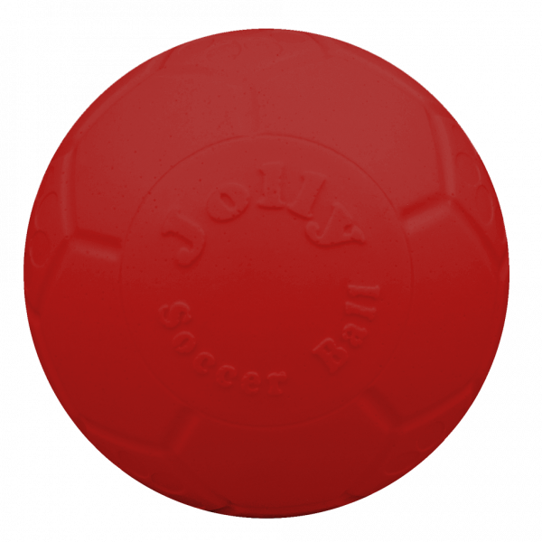 Jolly Soccer Ball 15cm Rood