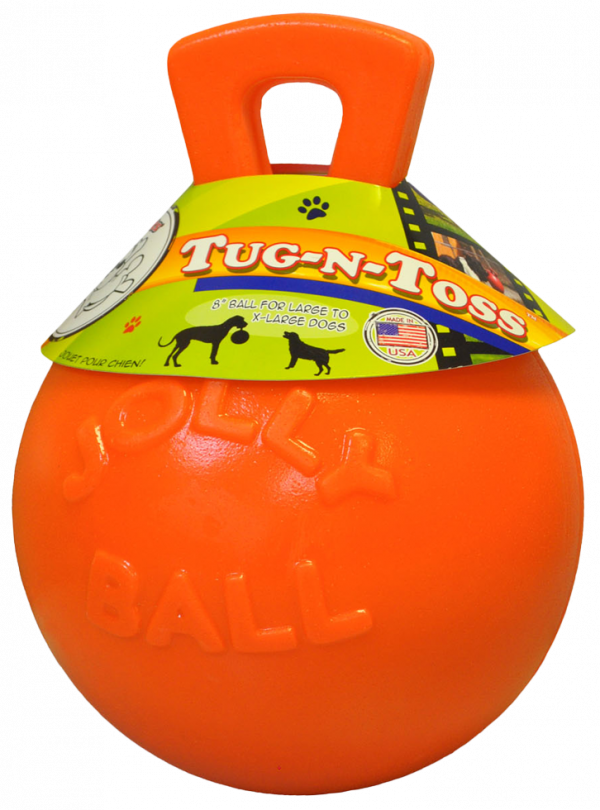 Jolly Tug-n-Toss 20 cm Oranje (Vanillegeur)