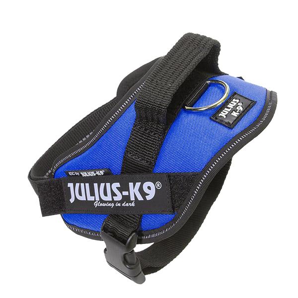 Julius-K9 IDC Powerharness 4 Blauw (96-138 cm)