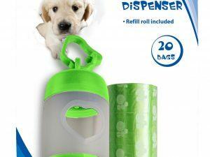 Pawise Poop Bags Dispenser (incl. 2 x 20 bags)