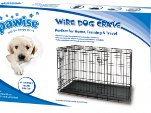 Pawise Wire Dog Crate M