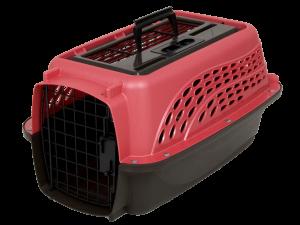 Petmate 2 Door Top Load Kennel XS Pink
