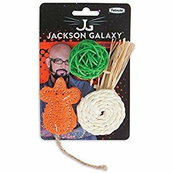 Jackson Galaxy Natural Play Time 3pk