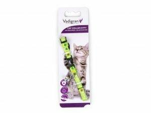 Halsband kat Kitty Cat groen 20-27cmx8mm