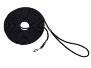 Zoeklijn nylon rond zwart 15mx6mm
