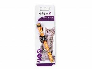 Halsband kat Kitty Cat oranje 20-27cmx8mm