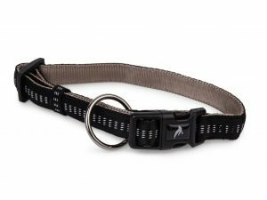 Halsband nylon Soft Grip zwart 20-30cmx10mm S
