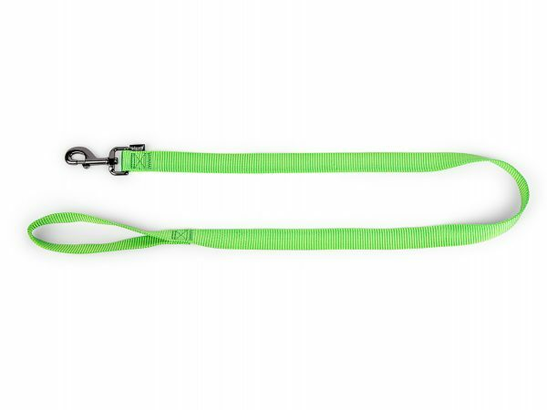 Leiband Classic Nylon groen 120cmx10mm S