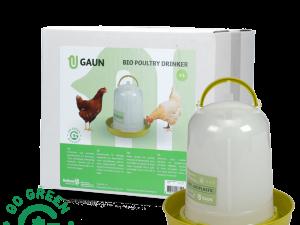 Pluimvee drinktoren 1,5 l Bio green lemon