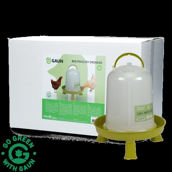 Pluimvee drinktoren 8 l Bio green lemon op pootjes