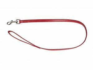 Leiband kunstleder Sunrise rood 100cmx16mm L-XL
