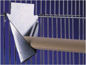 p24953  33165 stokhouder metaal 15x18cm 1