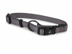 Halsband Classic Nylon taupe 14-21cmx10mm XS