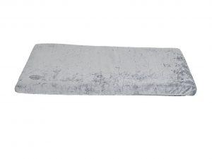 Bench kussen Zachte pluche grijs  97x62x3cm
