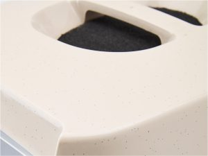 Toilethuis HP Manon grijs 54,5x39x39cm
